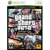 Grand Theft Auto Episodes From Liberty City Xbox 360 Nuevo