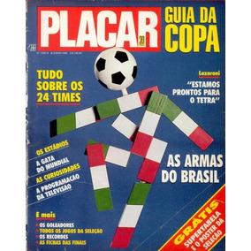 Revista Placar Digitalizada Guia Da Copa Do Mundo 1990