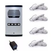 Porteiro Eletrônico Coletivo 4 Pontos Agl Intefonia Predial