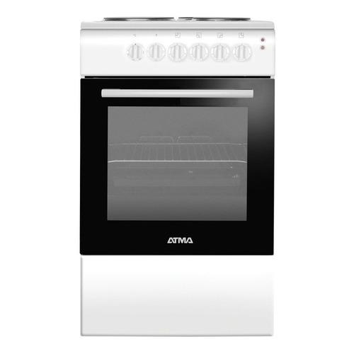 Cocina Atma CCE3110 4 hornallas  eléctrica blanca 220V puerta visor