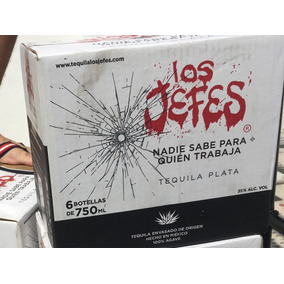 Tequila Los Jefes Caja X6