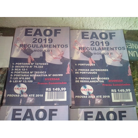 Eaof Apostila Impressa Frete Grátis 2019 12 Vezes Sem Juros