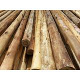 Postes Palos Y Troncos Redondos Eucaliptus 15 A 18 Cm -
