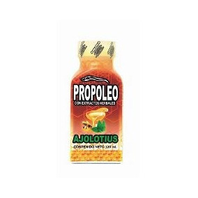 Propoleo Ajolotius 120ml Ajolotius Infecciones Respiratorias