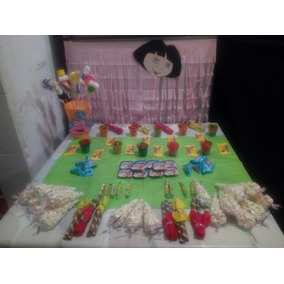 Mesa De Dulces 100 Personas Envio Gratis Dora Temáticas