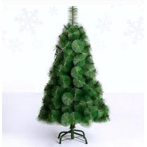 Árvore De Natal Pinheiro Luxo Verde 60cm +saia De Árvore