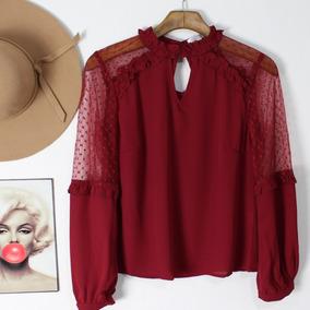 de1035ade Blusas Feminina Balada - Camisetas e Blusas no Mercado Livre Brasil