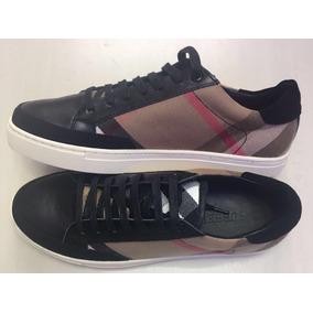 Sapato Tenis Burberry Masculino Couro - Pronta Entrega