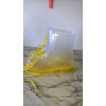 Bota Lluvia Mujer De Goma H2k