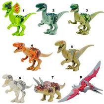 Kit 3 Dinossauros Compatível Lego Série Jurassic World
