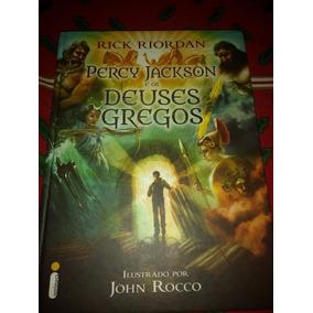 Livro Percy Jackson E Os Deuses Gregos Edicão Deluxe Barato!