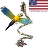 Loro Mascota Mastique Cuerda Budgie Bell Bird Perch...