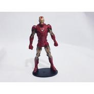 Miniatura Boneco Estátua Marvel Homem De Ferro 21cm