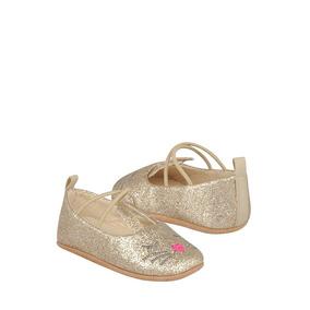 Zapatos Para Bebé Stylo Glitter Oro 116-87