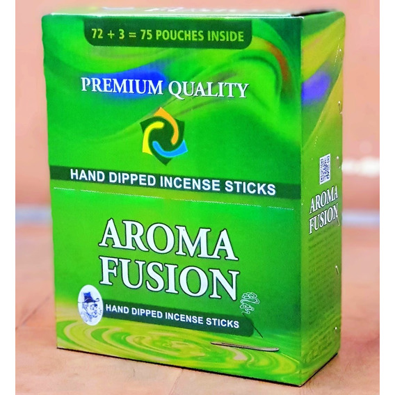 Sahumerios Darshan Aroma Fusión 75 Sobres Por Pack - Hindúes