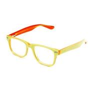 Armação De Óculos Infantil Thomaston Verde E Laranja