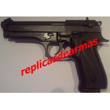 Pistola Beretta 92 Fs Replica De Fogueo Sup. 9 Mm