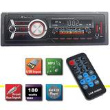 Auto Estereo Mp3 Usb 45w X 4 Salidas Radio Fm Sd Lcd Display