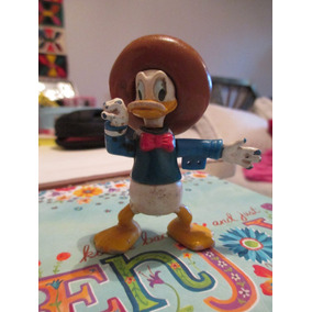 Antiguo Pato Donald De Goma Dura! Década Del 70´s! Oferta!!!