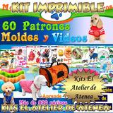 Mega Kit Imprimible Moldes Y Patrones Ropa Para Perros Y Mas