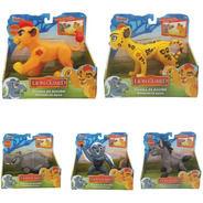 Pack X 5 Figuras La Guardia Del León Kion Articuladas Lion