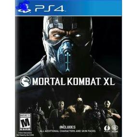 Game:ps4_mortal Kombat Xl