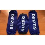 Cubre Amortiguadores Suzuki Azul Lcm Juri