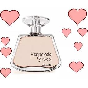 Colônia Desodorante Feminina Fernanda Souza, 100ml Jequiti
