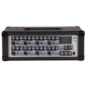 Mezcladora Amplificada 8 Canales 150w, Peavey Pvi8b