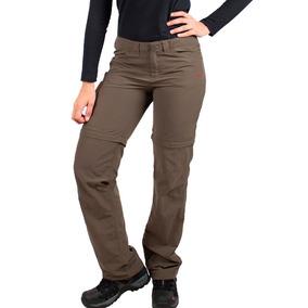 Pantalon Mujer Cargo Montagne Filtro Uv Desmontable Sabbana