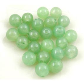 Cuentas Jade Piedra Semipreciosa Lote 100 Unidades B04034