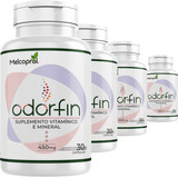 4x Odorfin Eliminador De Odores Intestinais Anti Flatulência