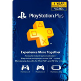 Psn Plus 12 Meses Playstation Plus 1 Año Ps3 Ps4 Vita Choko