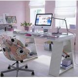 Mesa Cavalete Escrivaninha Fabricado Em Mdf Branco Tx De 15m