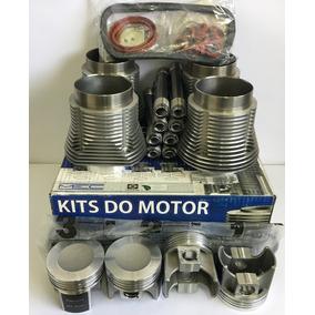 Kit Motor Fusca 1600 1.6 Ar Até 84 Gasolina Completo