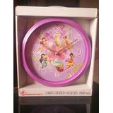 Reloj De Pared Disney Campanita Hadas