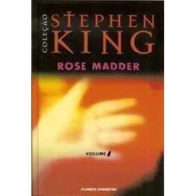 Livro Rose Madder - Volume 1. Stephen King