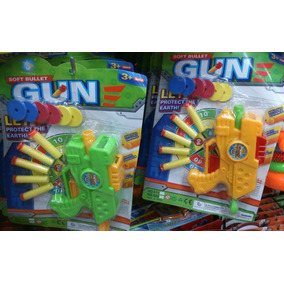 Pistola Juguete Tipo Nerf.