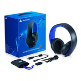 Headset Gold Sony Ps4 Ps3 Wireless 7.1 Original