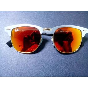 Ray Ban 3016 Clubmaster Prata - Óculos no Mercado Livre Brasil d65b19c8a2