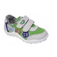 Zapatilla Toy Verde Con Abrojos (talle 20 Al 26) Art 2273ve