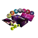 Kit Zumba Fitness Exhilarate 7 Dvds + 2 Haltéres Novo