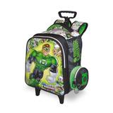 Mochila C/ Carrinho Infantil Lanterna Verde