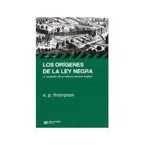 Libro Los Origenes De La Ley Negra *cj