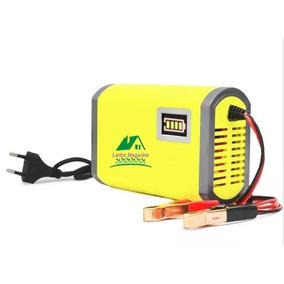 Carregador De Bateria Automotiva 12v/6a Digital Bivolt