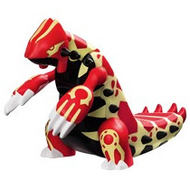 Boneco Pokemon Omega Ruby Primal Groudon Mc Donalds Lacrado