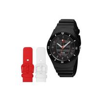 Relógio Technos Fla502a/8p Troca Pulseira