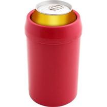 Porta Latão Lata 473ml Térmico Cerveja Plastico Parede Dupla
