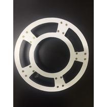 Suporte Alumínio Redondo Para Vasos Com Rodas E Freios 250kg