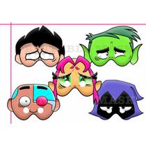 Antifaz Teen Titans Mascara Jovenes Titanes En Accion